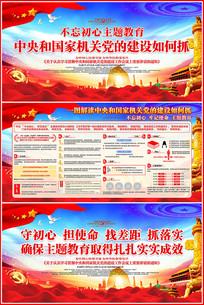 中央和国家机关党的建设工作会议展板