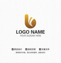 B字母商业服务LOGO设计