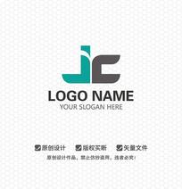 JC字母商业科技LOGO设计