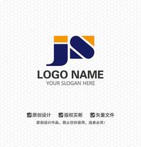 JS字母商业服务LOGO设计