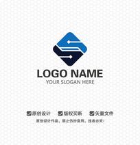 S字母科技LOGO设计