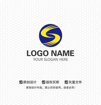 S字母商业服务LOGO设计
