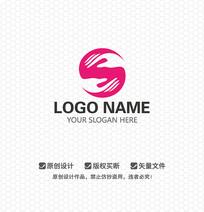 S字母孕妇护理LOGO设计