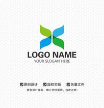X字母文化传播商业LOGO设计