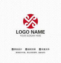 X字母文化商业LOGO设计