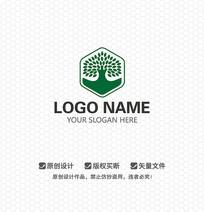 大树科技文化LOGO设计