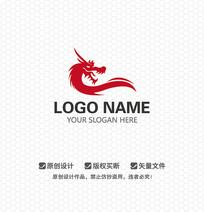 龙文化传播LOGO设计