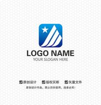 J字母科技商业LOGO设计