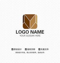 M字母文化传播LOGO设计