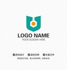 盾牌锁具公司LOGO设计