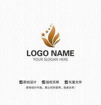 凤凰花卉五星级商业建筑LOGO设计