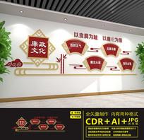 党建室传统廉政文化墙