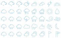 简单天气预报图标设计