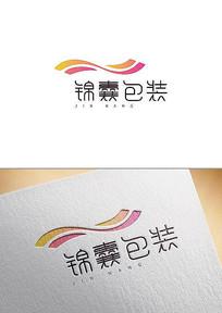 锦囊包装字体logo设计