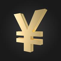 金属质感金融符号
