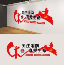 社区消防文化墙设计