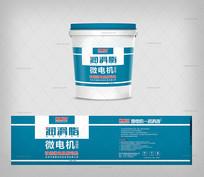 简洁润滑脂微电机桶外包装 CDR
