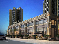 建筑外观 商业中心