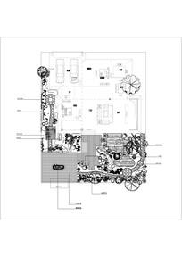 别墅私家花园平面图