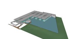 现代建筑SU模型
