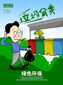 创意环保海报