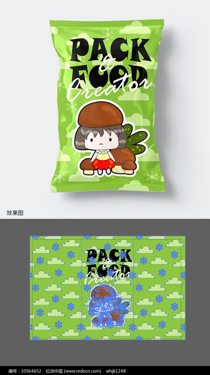 休闲食品包装袋图片