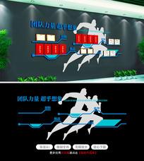 原创企业展厅设计公司文化墙