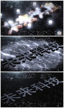 震撼未来科技片头视频模板
