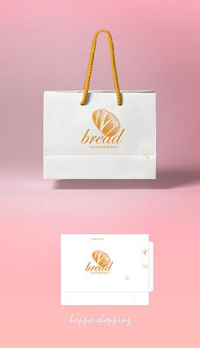高档大气餐饮店铺手提袋纸袋