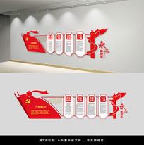 党员权利党的义务党建文化墙