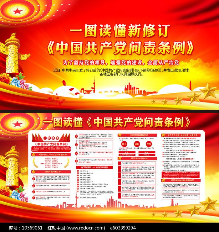 一图读懂中国共产党问责条例图片图片