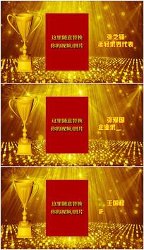 会声会影企业个人颁奖典礼视频模板
