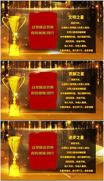pr企业个人颁奖典礼视频模板