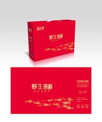 群鱼海鲜包装设计