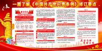 一图读懂中国共产党问责条例展板