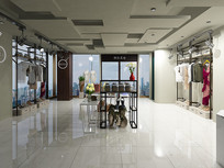服装店3Dmax模型