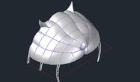 膜结构山顶景观虎头方案图0809