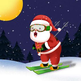 原创可爱圣诞老人表情 PSD