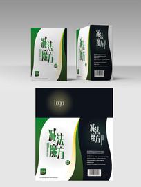 减肥饮料包装 PSD