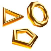 原创元素双十一促销黄金元素