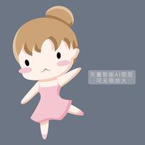 芭蕾舞蹈女孩图片