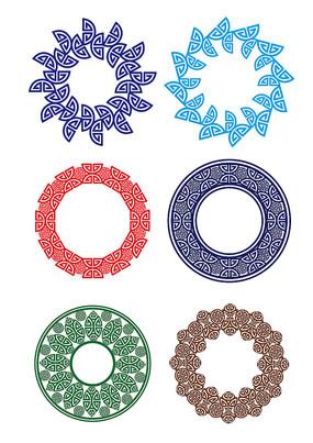 福中式花纹