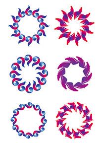 花环和花纹