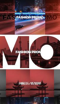 时尚动感时装品牌促销宣传开场pr模板