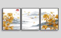 中式现代室内装饰画