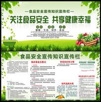 食品安全知识宣传展板