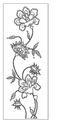 cad花朵雕花