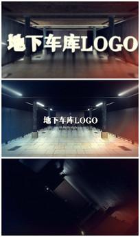 简洁地下车库logo视频模板