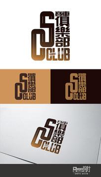 时尚SC赛车俱乐部Logo设计