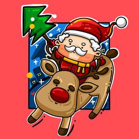 圣诞节原创图片